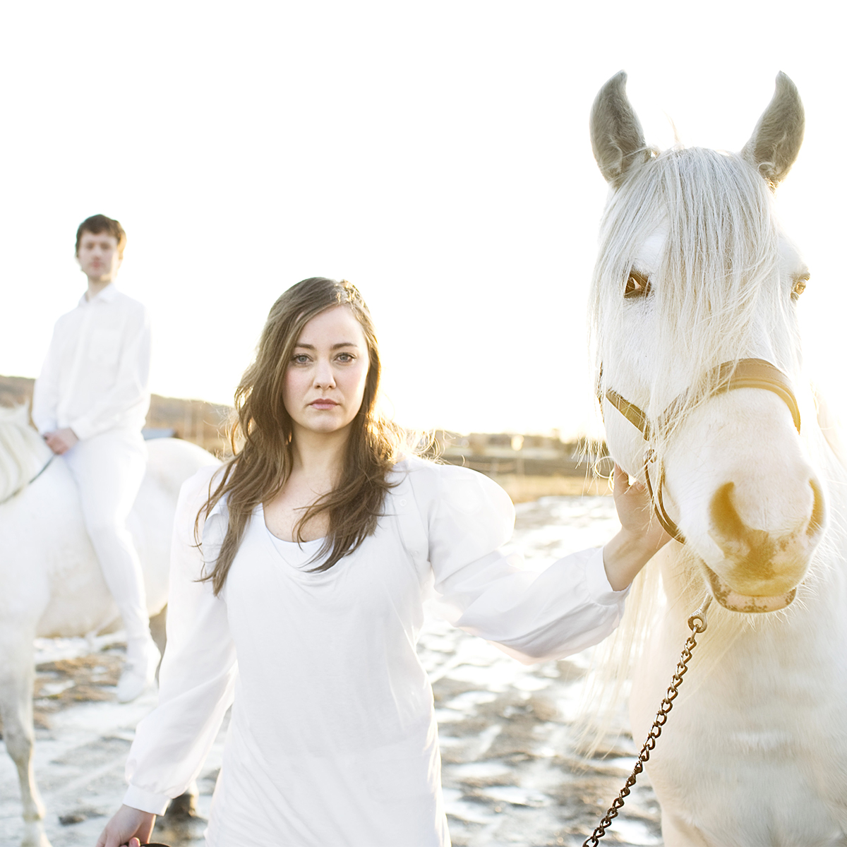 Two White Horses (photo: Andreas Nilsson)